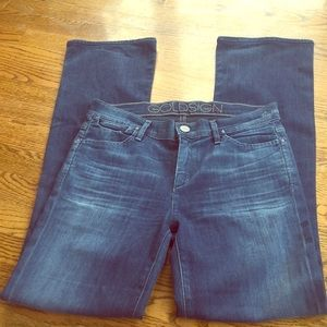 GOLDSIGN Quinn Wally bootcut jeans